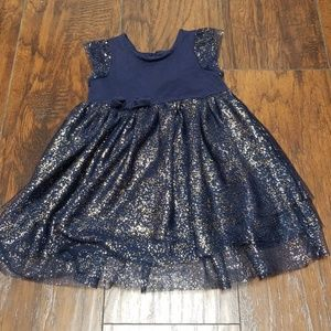 Hanna andersson tulle dress size 85/2T